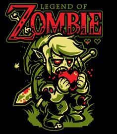 The Legend of Zombie Shirt!