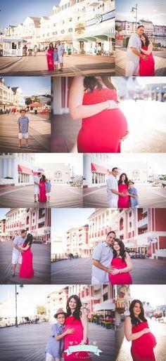 Maternity Session at the Disney Boardwalk by Tara Merkler Photography in Orlando, Florida