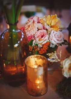 Blush-and-Coral-Wedding-Centerpiece