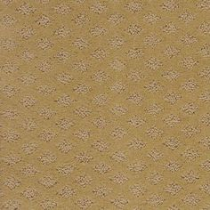 """Stylish Diamond pattern carpeting in style """"Always Mine"""" color Sunlight by Shaw Floors available at Ed Selden Carpet One"""