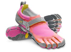 vibrams! Great to simulate barefoot running...multiple styles I want!!