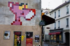 Space invader: Pink Panther