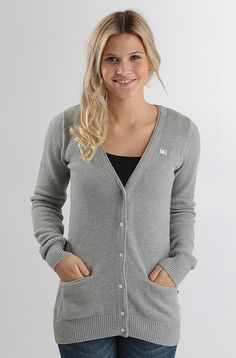 Makia Roll Knit cardigan Grey 79,90 € www.dropinmarket.com