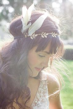 Gorgeous!!! Boho inspired head crown!