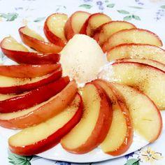簡単おやつ♡焼きリンゴ♡