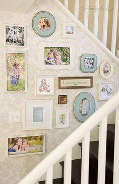 Ideia de decoração: uma parede para contar histórias