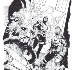 Inhumans by Jerome Opena *