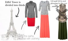 Dressing with the Right Proportions 101