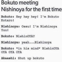Bokuto-san XDDDD [Haikyuu !!] ❤