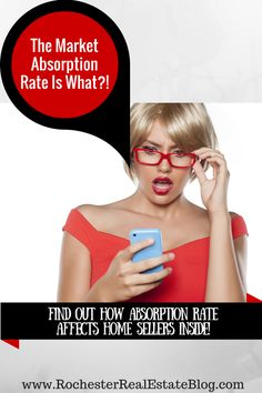 Find Out How Market Absorption Rate Affects Home Sellers - http://www.rochesterrealestateblog.com/what-is-a-market-absorption-rate-in-real-estate/ via @KyleHiscockRE
