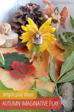Simple Play Ideas - Autumn Imaginative Play in a Box! @Katepickle - Picklebums.com - Picklebums.com