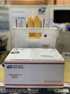 Cómo ahorrar tiempo y dinero en el envío de tus ventas online   Súper Baratísimo Gratis Walmart, Priorities, Priority Mail, Counter, Container, The Unit, How To Apply, Ebay, Snail Mail