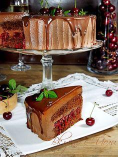 Russian Cakes, Bulgarian Recipes, Flan, Tiramisu, Mousse, Cake Recipes, Deserts, Food And Drink, Dishes