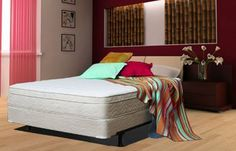 12 in. Memory Foam Mattress by Atlantic Beds Queen Size with Foundation Advanced Cooling System by Atlantic Beds. $1849.00. Our Ambassador Memory Foam Mattress offers medium firm support for ideal comfort.