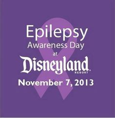 Thank you, Disneyland.  This gives me hope that more people will help cure epilepsy.  I hope William and the rest of the family have a blast in Disney and can maybe find some reassurance in the information they might find during the awareness day!   Love you William, Amanda, Ron, and Lisa!