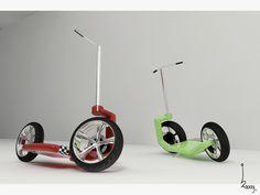 Scupio - footbike by Bart Doors, via Behance