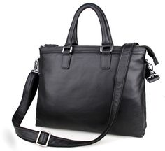 7247A JMD New Arrive Genuine Cattle Leather Fashion Tote Bag Handbags Business Case