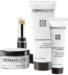 Dermablend Skin Care Products are high quality but Remove every bit of deformity I have. I feel real beautiful