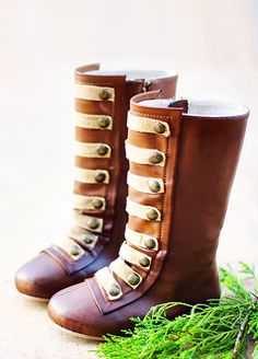 *NEW* Leighton Military Boots. I love a baby in a boot!