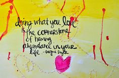 doing what you love by amytangerine5, via Flickr