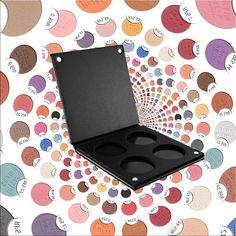 paris Berlin  Create Your Own Deluxe Palette - SMALL Utse dina 4 favorit skuggor från en färgkarta av 72 färger med allt ifrån matta färger till skimriga, dova till neonlika!