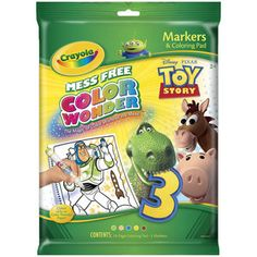 Crayola Color Wonder Disney Toy Story Coloring...pj for christmas