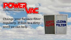 As we get ready for Springr, there are many things to do in the yard as well as in the house.  One of the important tasks that is often overlooked is replacing the furnace filter.  The main purpose of a furnace filter is to protect the blower fan and equipment  from all the dust, hair and other gunk the return duct pulls in.