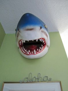Does your home decor need more bite? Put a shark on it!