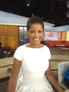 Tamron Hall's Natural Hair Is a Bigger Deal Than You Might Think...one of the first African American news anchors to wear her hair in it's natural texture
