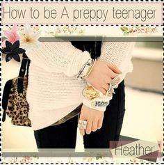 """How to be a preppy teenager"" by tipit ❤ liked on Polyvore"