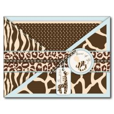 Shop Safari Monkey & Pacifier Animal Print Baby Shower Announcement created by LullabyeDreams. Personalize it with photos & text or purchase as is! Print Thank You Cards, Baby Shower Thank You Cards, Baby Cards, Gender Reveal Party Invitations, Baby Shower Invitations, Invites, Baby Shower Announcement, Safari Party, Jungle Safari