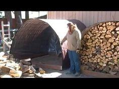 Learn to Build a Simple Firewood Storage Bin
