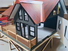 Dollhouses, Minis, Outdoor Decor, Home Decor, Decoration Home, Room Decor, Doll Houses, Home Interior Design, Home Decoration