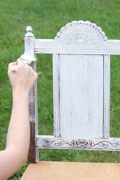 refinishing furniture DIY Furniture How To Refinish Furniture Furniture Projects, Furniture Makeover, Home Projects, Diy Furniture, Whitewashing Furniture, Repurposed Furniture, Painted Furniture, Refinished Chairs, White Washed Furniture