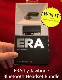ERA by Jawbone Bluetooth Headset bundle