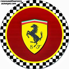 Ferrari: Imprimibles y Etiquetas para Imprimir Gratis. Birthday Tags, 10th Birthday Parties, 1st Boy Birthday, Happy Birthday, Ferrari Cake, Ferrari Party, Ferrari F1, Ferrari Logo, Go Kart Party