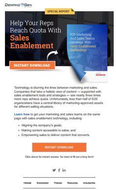 DemandGen Report - BrainShark Whitepaper Email Offer