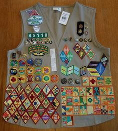 I have a couple of sub-pages for some specific uniform things. If you're interested, check out these: Uniform Cleaning Badge Placement. Girl Scout Junior Vest, Girl Scout Uniform, Girl Scout Patches, Girl Scout Swap, Girl Scout Leader, Girl Scout Troop, Brownie Girl Scouts, Cadette Girl Scout Badges, Cadette Badges