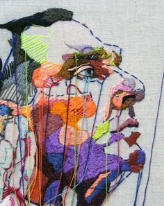 New Gcse Art Sketchbook Pictures Ideas Art Fil, Thread Art, Sketchbook Inspiration, Painting Inspiration, Color Inspiration, Gcse Art, Textile Artists, Art Design, Embroidery Art