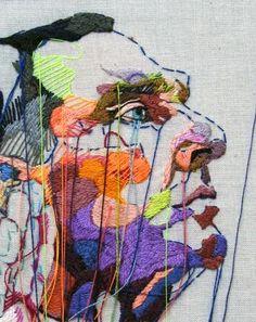 Paperfolk loves... Lauren DiCioccio embroidery