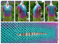 Atelier Marie-Lucienne: Granny-Spiration Challenge 2017 – August (Part VIII / Teil Crotchet, Crochet Lace, Free Crochet, Crochet Summer Tops, Crochet Tops, Crochet Clothes, Challenges, Crafty, Sewing