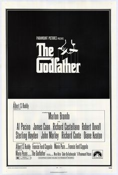 The Godfather original movie poster