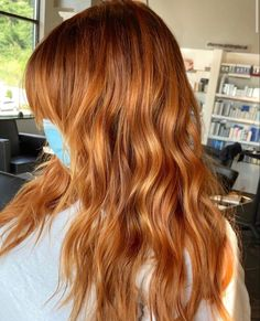 Rust Orange, Orange Brown, Copper Red Hair, Light Hair, Brunette Hair, Fall Hair, Long Hair Styles, Shape, Book