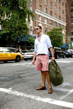 Love this look! Typical Manhattan!  Photo by Scott Schuman, The Sartorialist