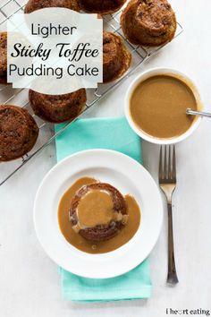 Lighter Sticky Toffee Pudding Cake - I Heart Eating Ww Desserts, Dessert Recipes, Dinner Recipes, Fall Recipes, Sweet Recipes, Delicious Recipes, Tasty, Yummy Food, Gourmet Cupcake Recipes
