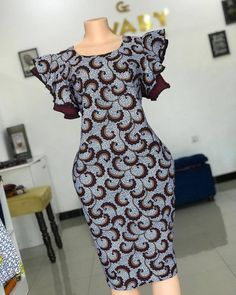 African Print Dresses, African Print Fashion, African Fashion Dresses, Fashion Prints, Casual Dresses For Women, Short Dresses, Shweshwe Dresses, Ankara Dress, Dress Making