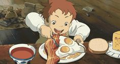 Food is what we live for. | Can You Get Through These Anime Food GIFs Without Getting Hungry?