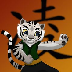 My character for Kung fu Panda, whooot! Her name is Ling and I was thinking that she could be Tigress's niece or something. Tigress Kung Fu Panda, Po Kung Fu Panda, Cat Character, Character Design, Panda Drawing, Panda Art, Disney Addict, Disney Animation, Spirit Animal