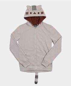 This Pusheen the Cat hoodie. | 22 Obnoxiously Cozy Things That'll Help You Embrace The Cold