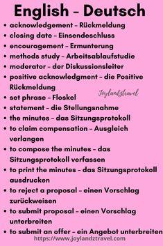 German Grammar, German Words, Learn English Words, Study German, German English, Spanish English, Japanese Language Learning, Chinese Language, Teaching French